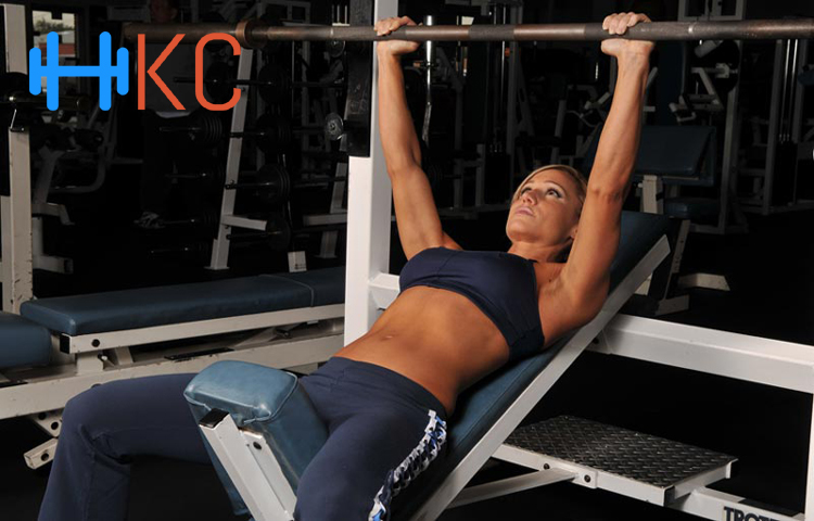 Perform Barbell Incline Bench Press