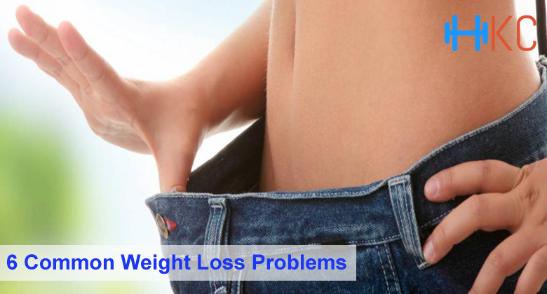 6 Common Weight Loss Problems, Weight Loss Problems