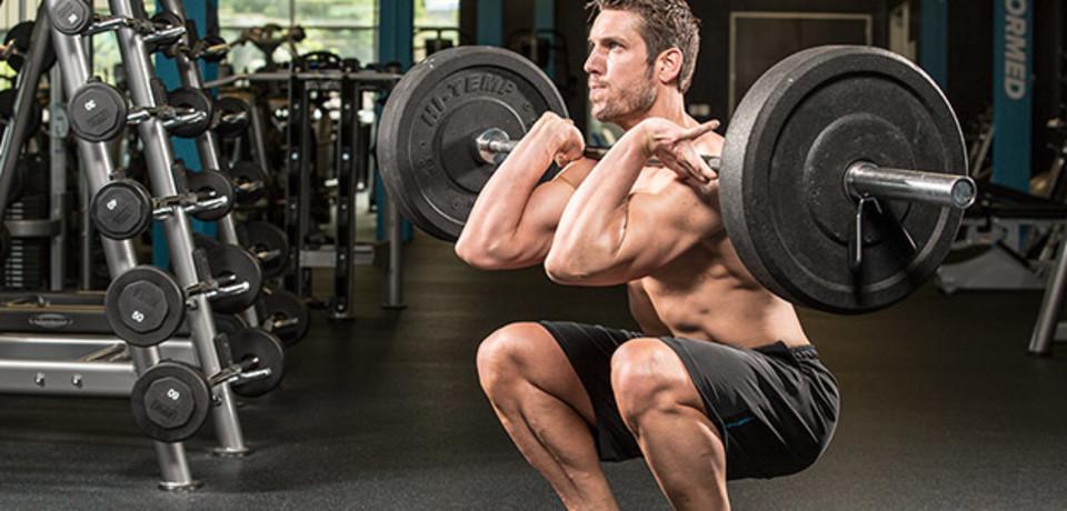 Leg Workouts, Training Exercises For Leg Day, Leg Workout, Leg Exercises, Front Squat