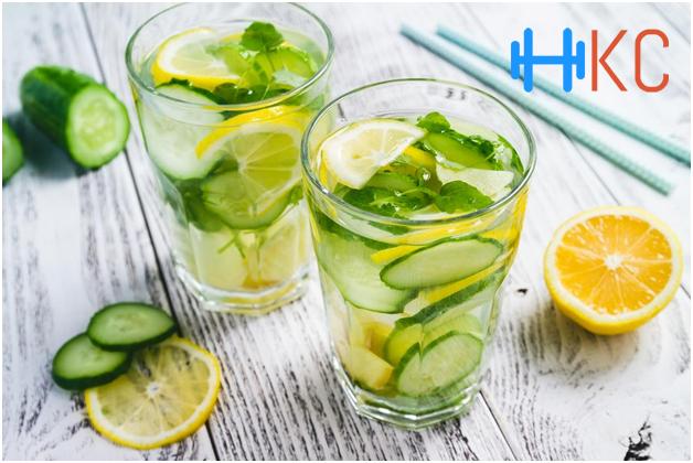Lemon Cucumber & Ginger Juice
