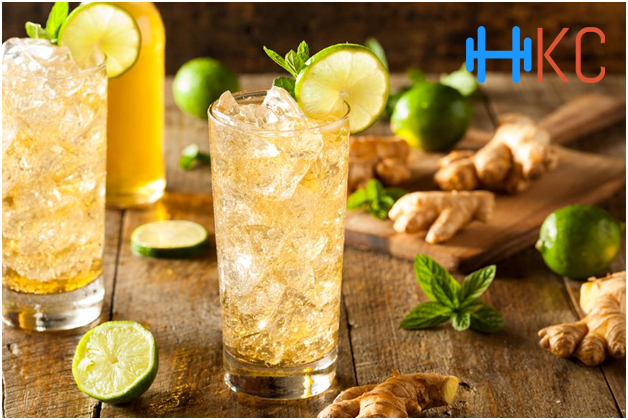 Lime and Ginger Tea, Five Awesome Juices to Burn Crazy Belly Fat