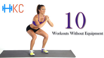 10 workouts without equipment