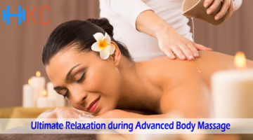 Ultimate Relaxation during Advanced Body Massage