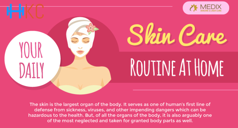 Your Daily Skin Care Routine At Home : Health Kart Club