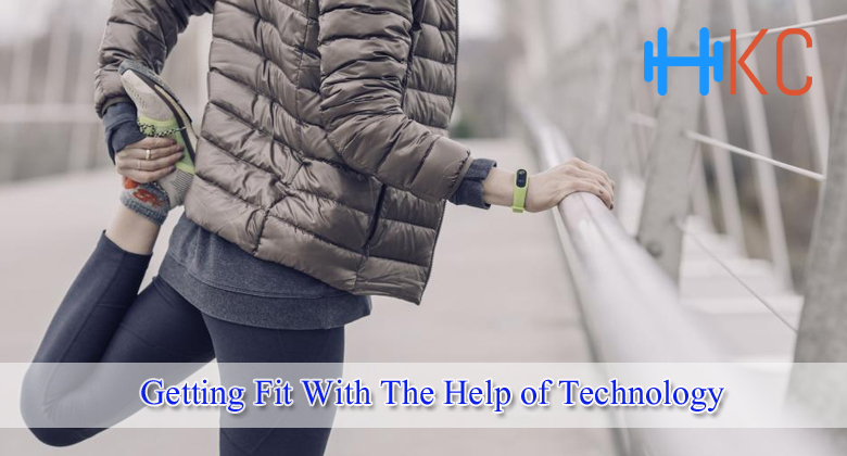 Getting fit with the help of technology