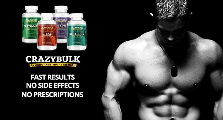 Crazy Bulk Review – Shape your body enhancing the power