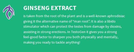 Testogen-ginseng-extract