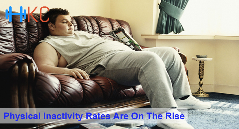 Physical Inactivity Rates Are On The Rise