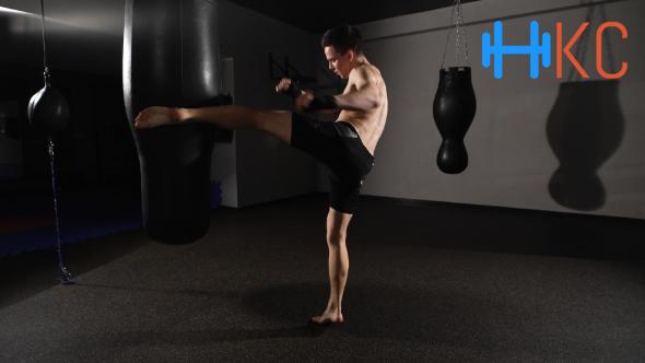 Forward Kick And Punch