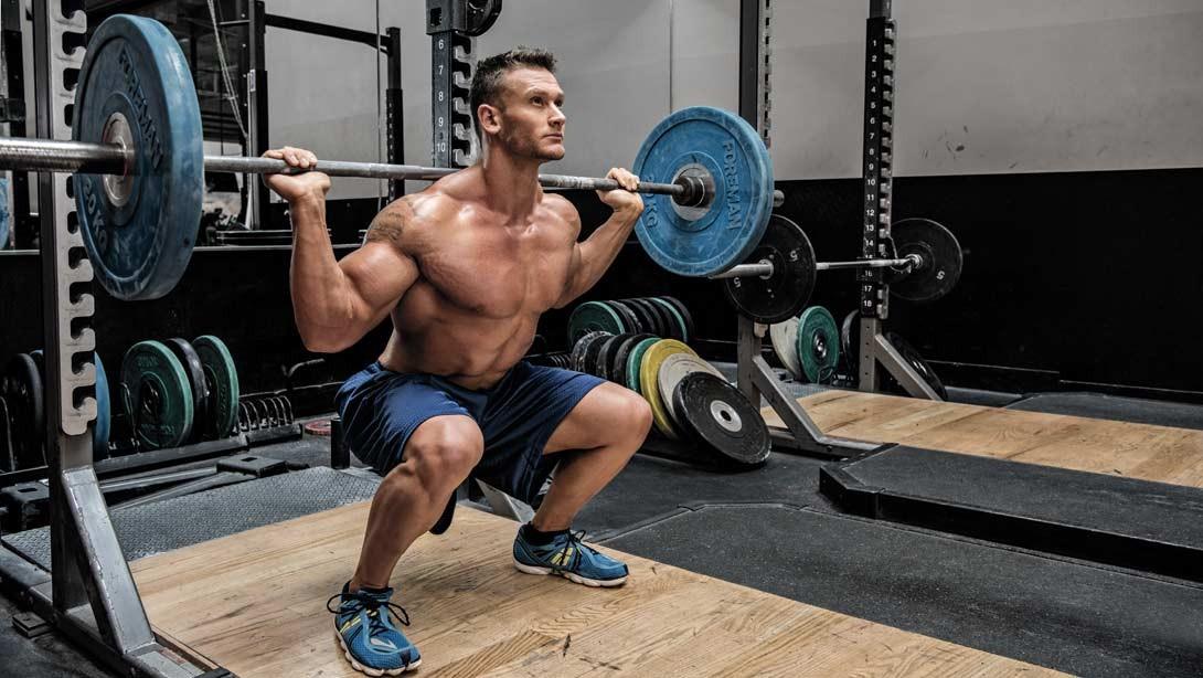 barbell back squat, Exercises For Leg Day