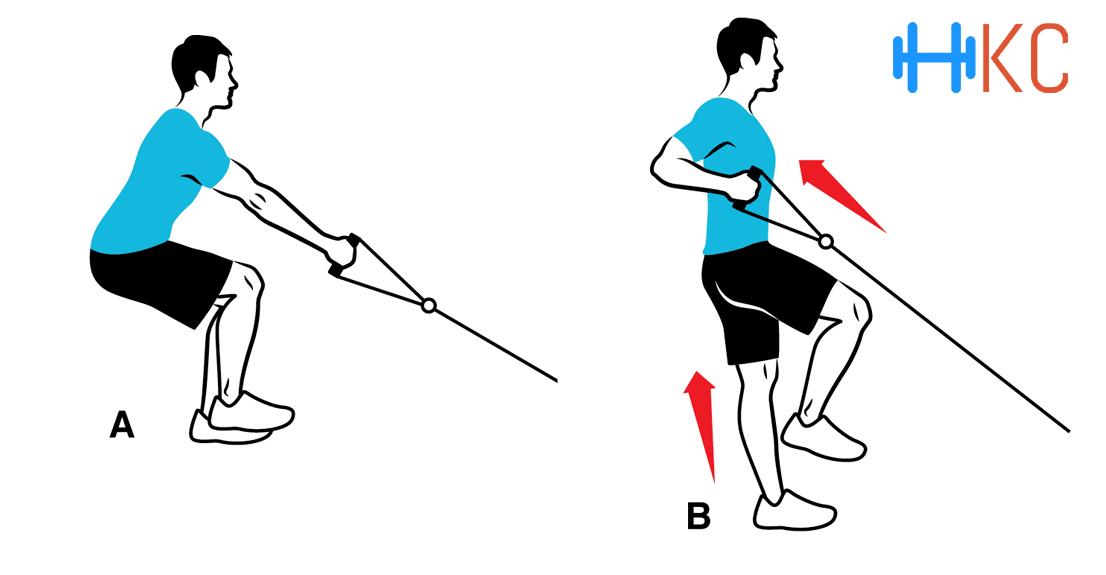 Single Leg Single Arm Cable Row