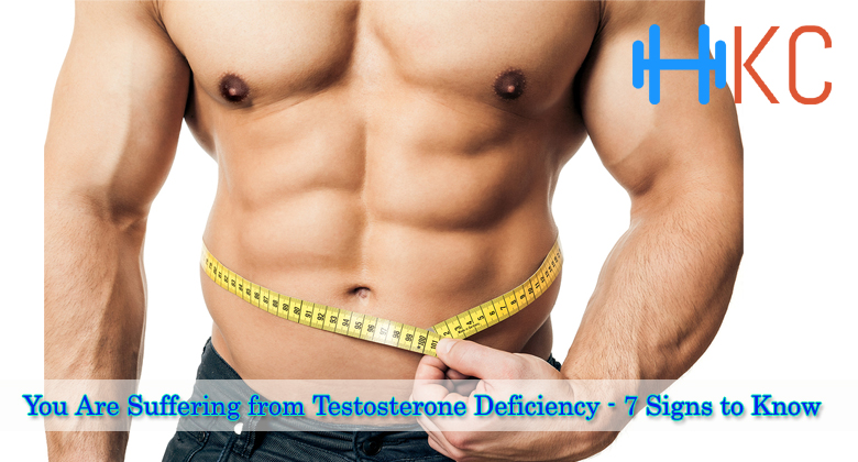 You Are Suffering from Testosterone Deficiency