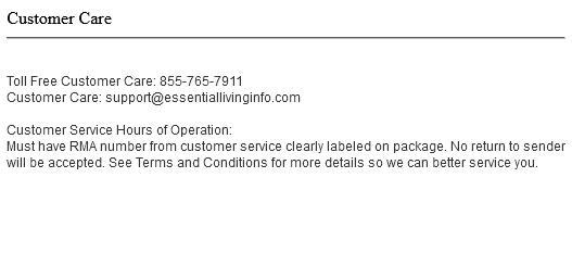 Endovex Customer Service Number