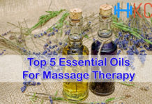 Top 5 Essential Oils for Massage Therapy