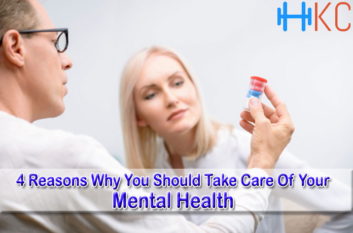 4 Reasons Why You Should Take Care Of Your Mental Health